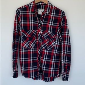 Zara Plaid Flannel Shirt